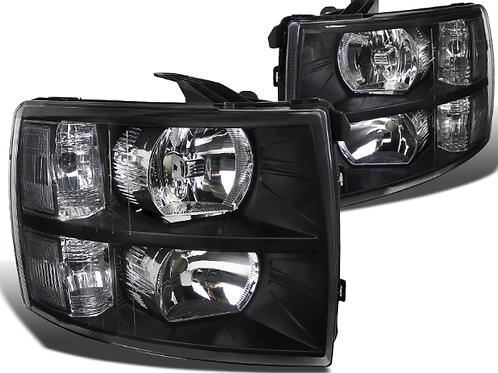 07-13 Silverado Clear Headlights