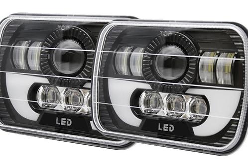 7X6 LED Sealed Beam Headlights