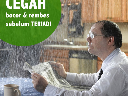 TIPS MENCEGAH ATAP BOCOR