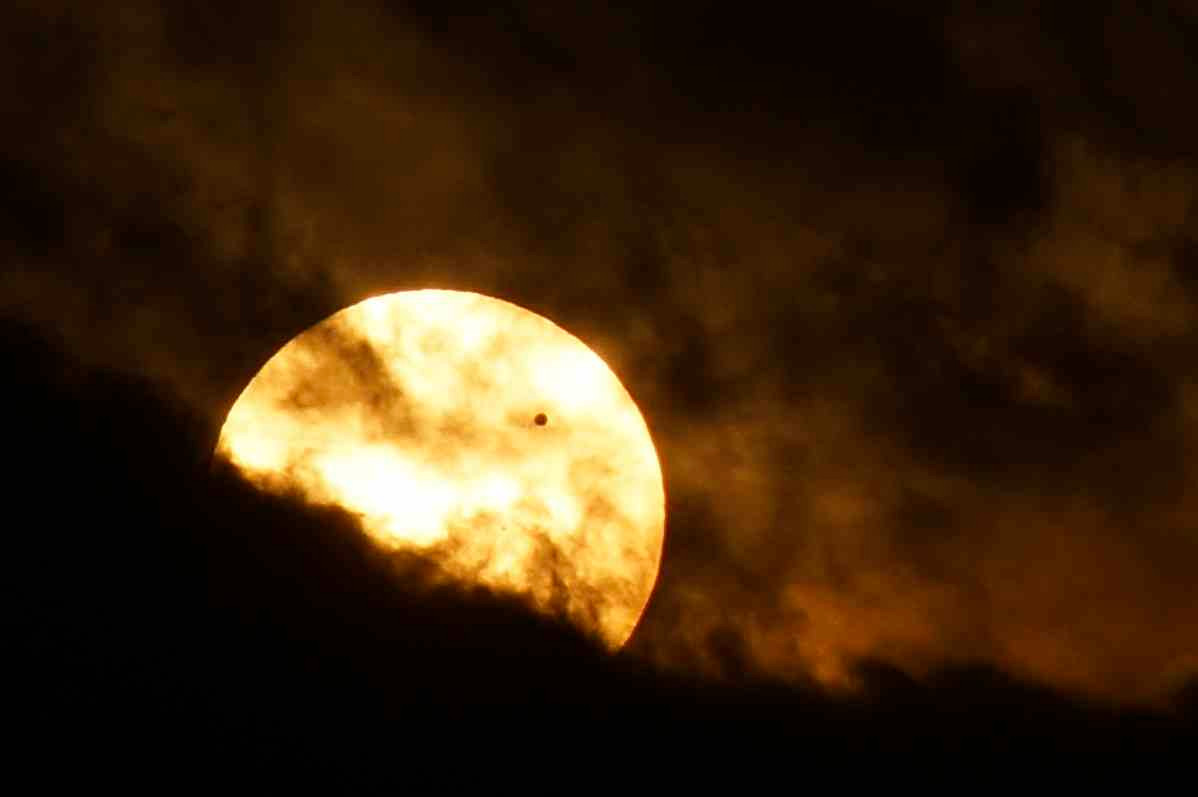 Venus Transit Across Sun