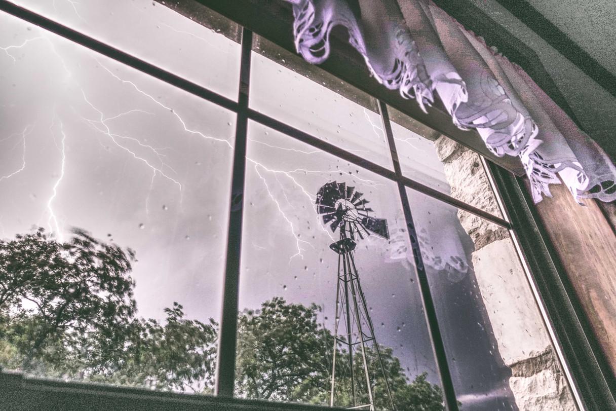 Windmill & Lightning