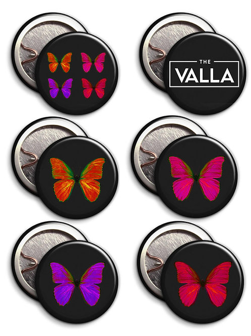 The Valla Badge Set