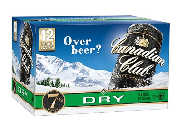 CANADIAN CLUB 12PK CANS 7%