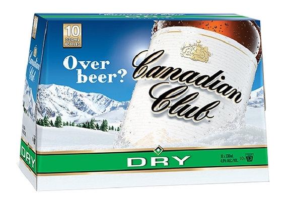 CANADIAN CLUB 10PK BTLS 4.8%