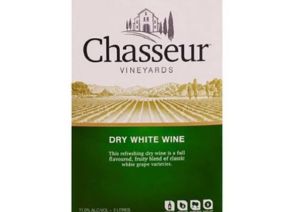 CHASSEUR DRY WHITE WINE 3L