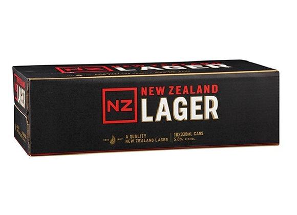 NZ LAGER 18PK