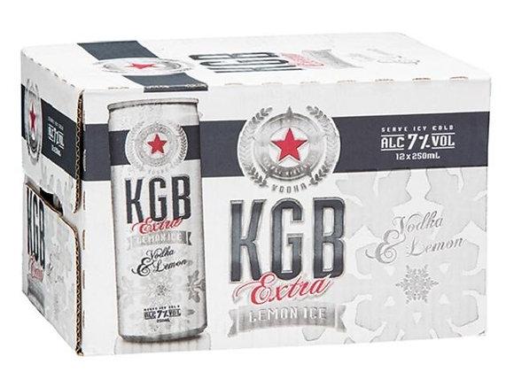 KGB VODKA & LEMON 12PK CANS 7%