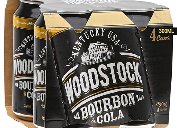 WOODSTOCK 4PKx2 CANS 7% 300ML