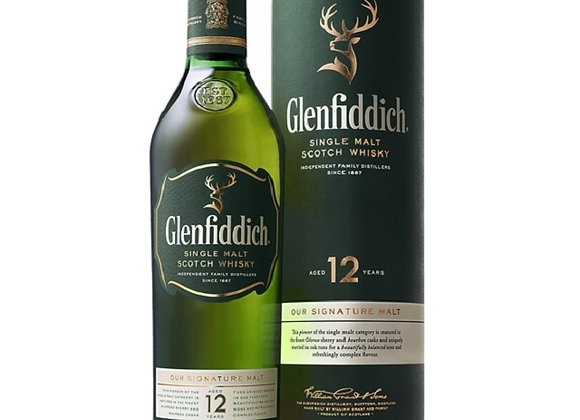 GLENFIDDICH 700ML