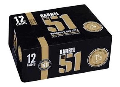 BARREL 51 12PK 250MLCANS 7%