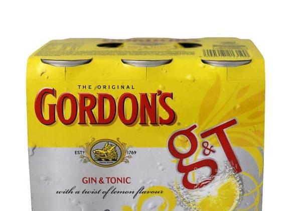 GORDONS 6PKx2 CANS 7%