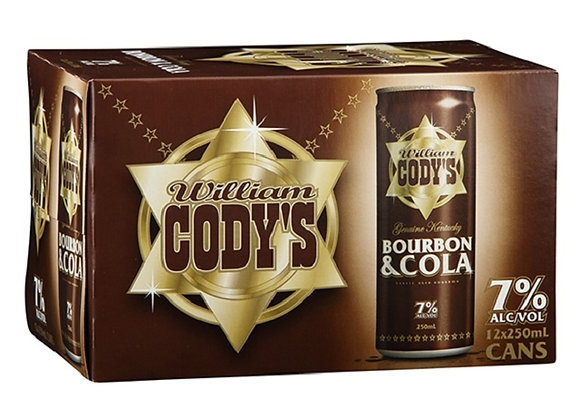 CODYS 12PK CANS 7%
