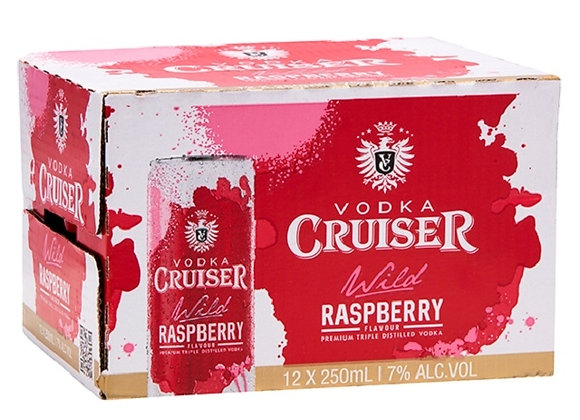 CRUISER RANGE 12PK CANS 7%