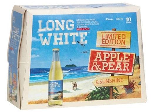 LONG WHITE RANGE 10PK BTLS 4.8%