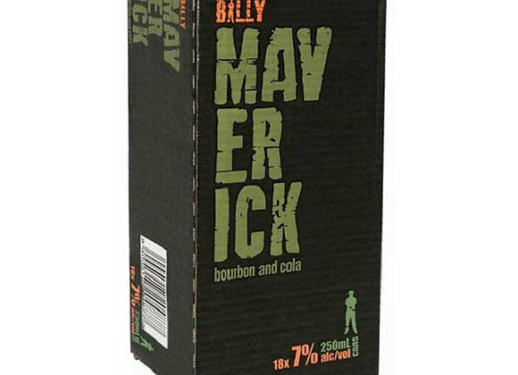 BILLY MAVERICK 18PK CANS 7%
