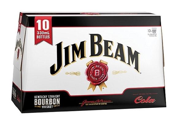 JIM BEAM & COLA 10PK BTLS 4.8%