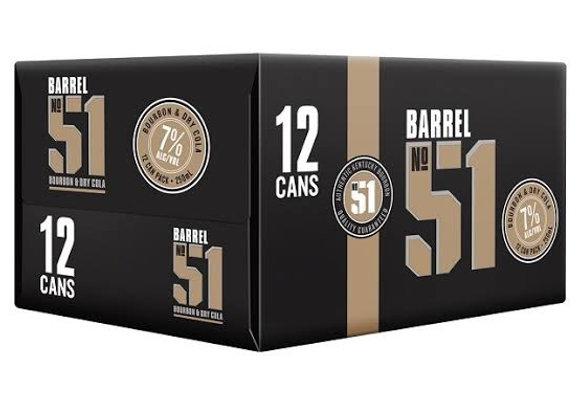 BARREL 51 12PK CANS 7% 330ML