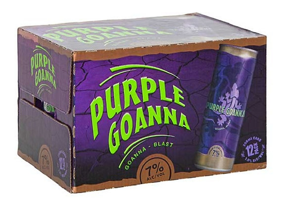 PURPLE GOANNA 12PK CANS 7%
