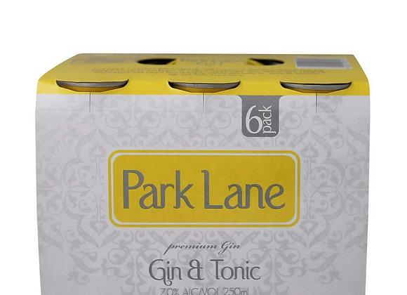 PARK LANE GIN & TONIC 6PKx2 CANS