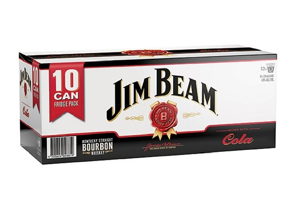 JIM BEAM 10PK CANS
