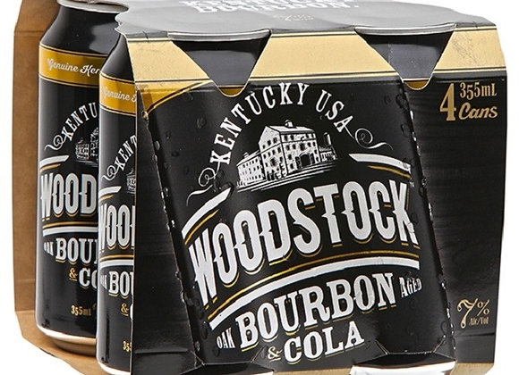 WOODSTOCK 4PKx2 CANS 7% 355ML