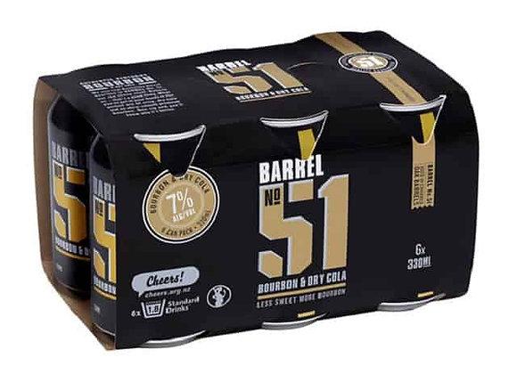 BARREL 51 6PKx2 CANS 7%