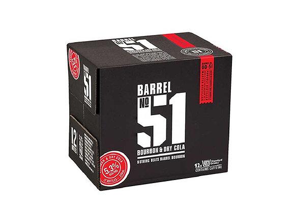 BARREL NO51 12PK BTLS 5%