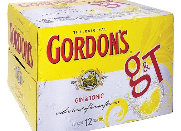 GORDONS 12PK CANS 7%