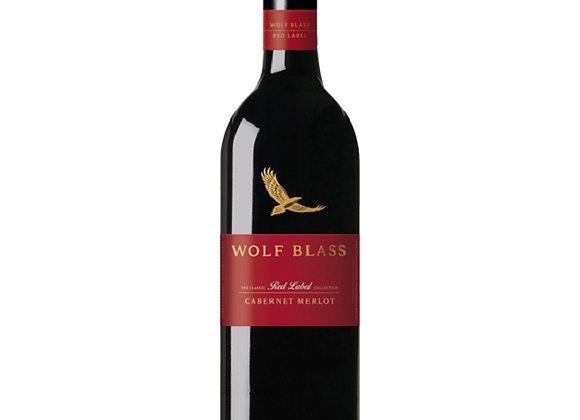 WOLF BLASS RED LABEL CAB MERLOT