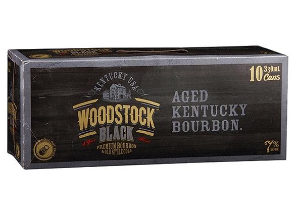WOODSTOCK BLACK 10PK CANS 7%