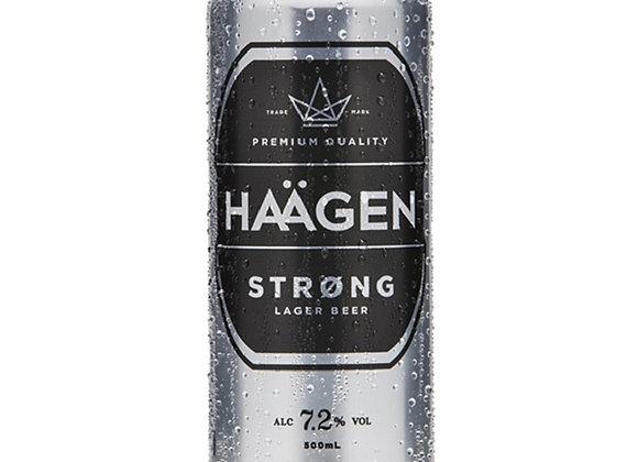 HAAGEN STRONG 6PK 500ML 7.2%