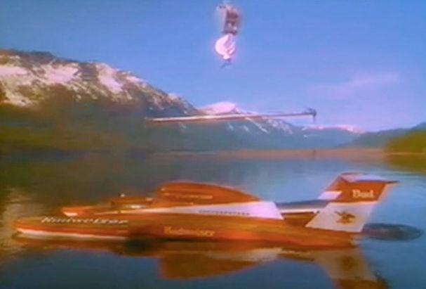 Bud racing hydroplane