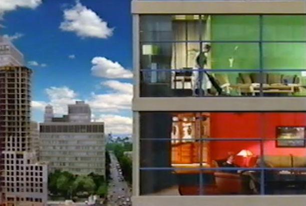 Apartment building vacum