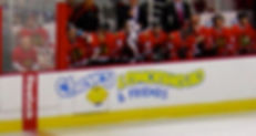 Blackhawks bench