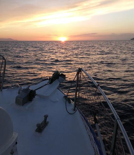 Enjoy the Aegean Sunset