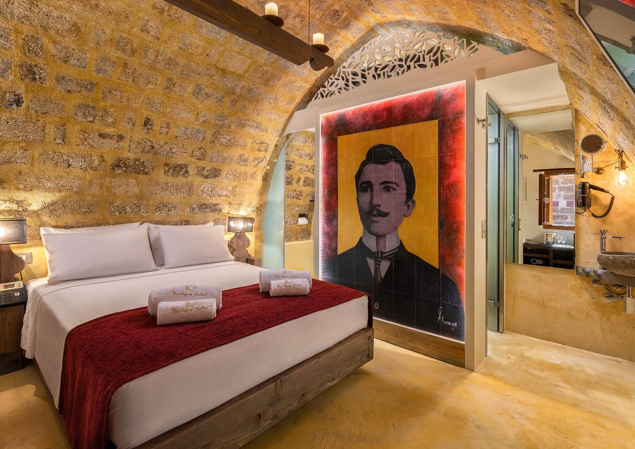 10GR Rooms - Nikos Kazantzakis