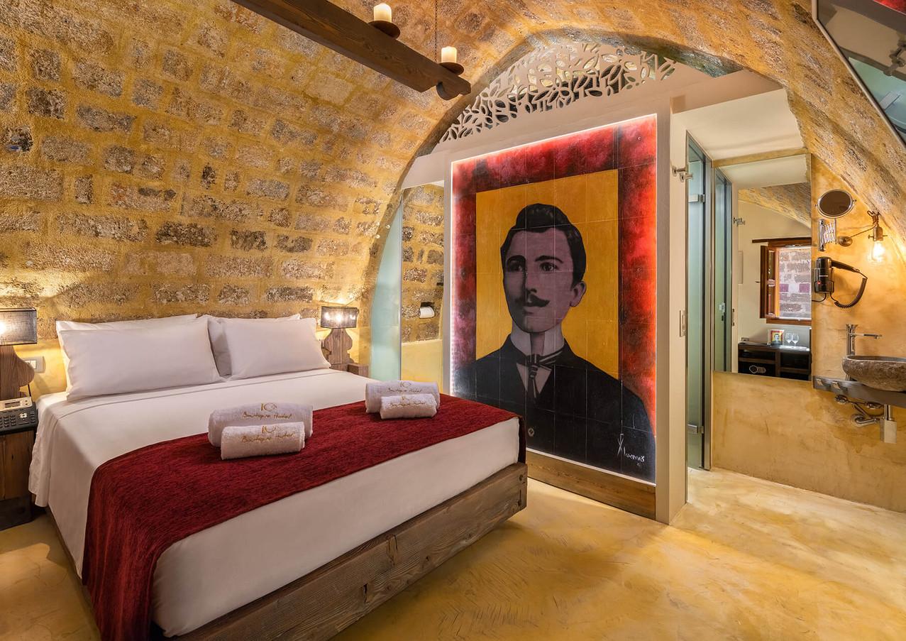 10GR Rooms - Νίκος Καζαντζάκης