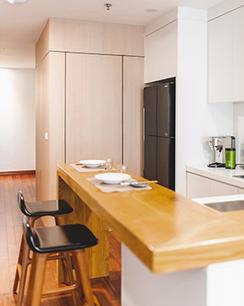Modern Minimalist Kitchen Set