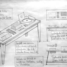 """Music furniture """"Cherry"""""""