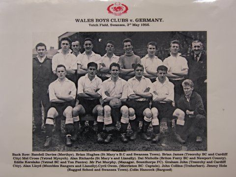 Wales Boys' Clubs v Germany