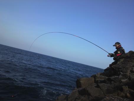 天気が良くなると釣りに行きたくなる件