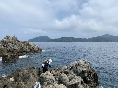 五島レポート第二弾は釣り!