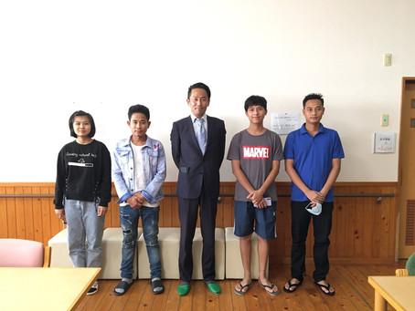 ミャンマーから4名が無事入国