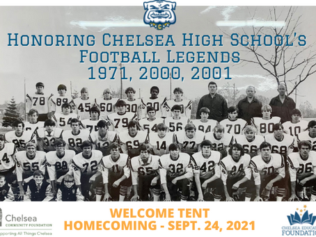 CCF & CEF Honors CHS Football Legends at Homecoming
