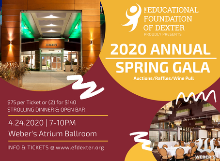 EFD Spring Gala has been cancelled