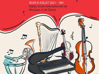 Concert de fin d'année 2020-2021