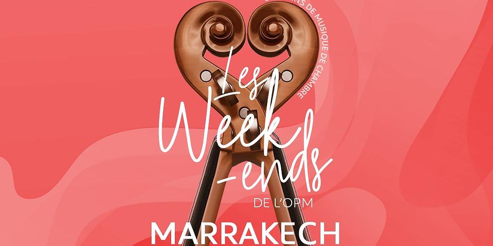 LES WEEKENDS DE L'OPM - Marrakech - 18h