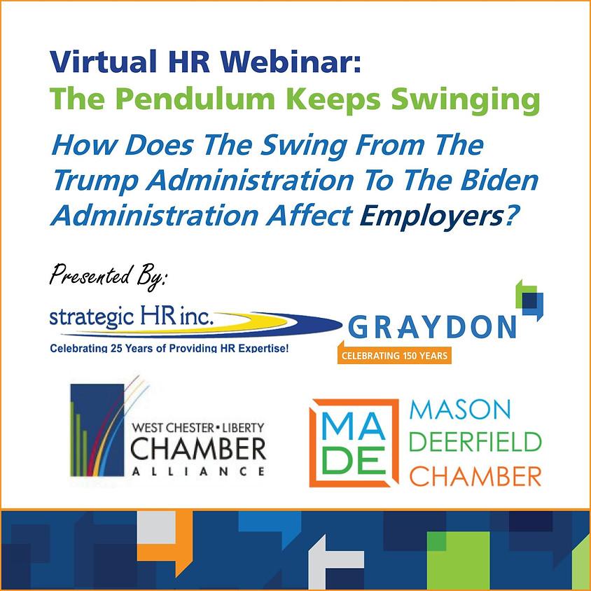 Virtual HR Webinar: The Pendulum Keeps Swinging