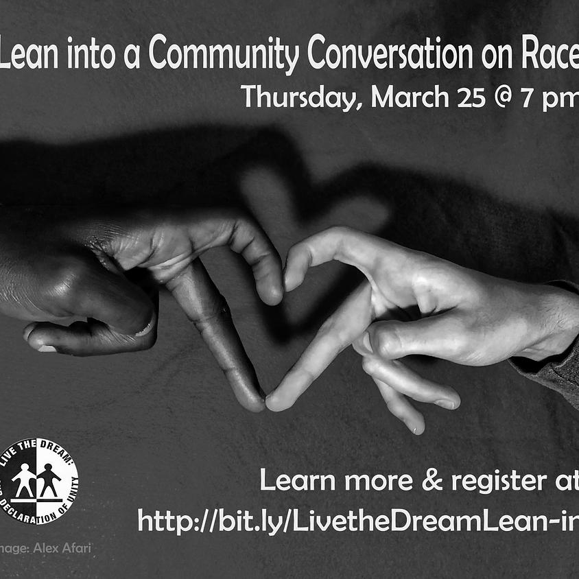 Community Conversation - Live the Dream