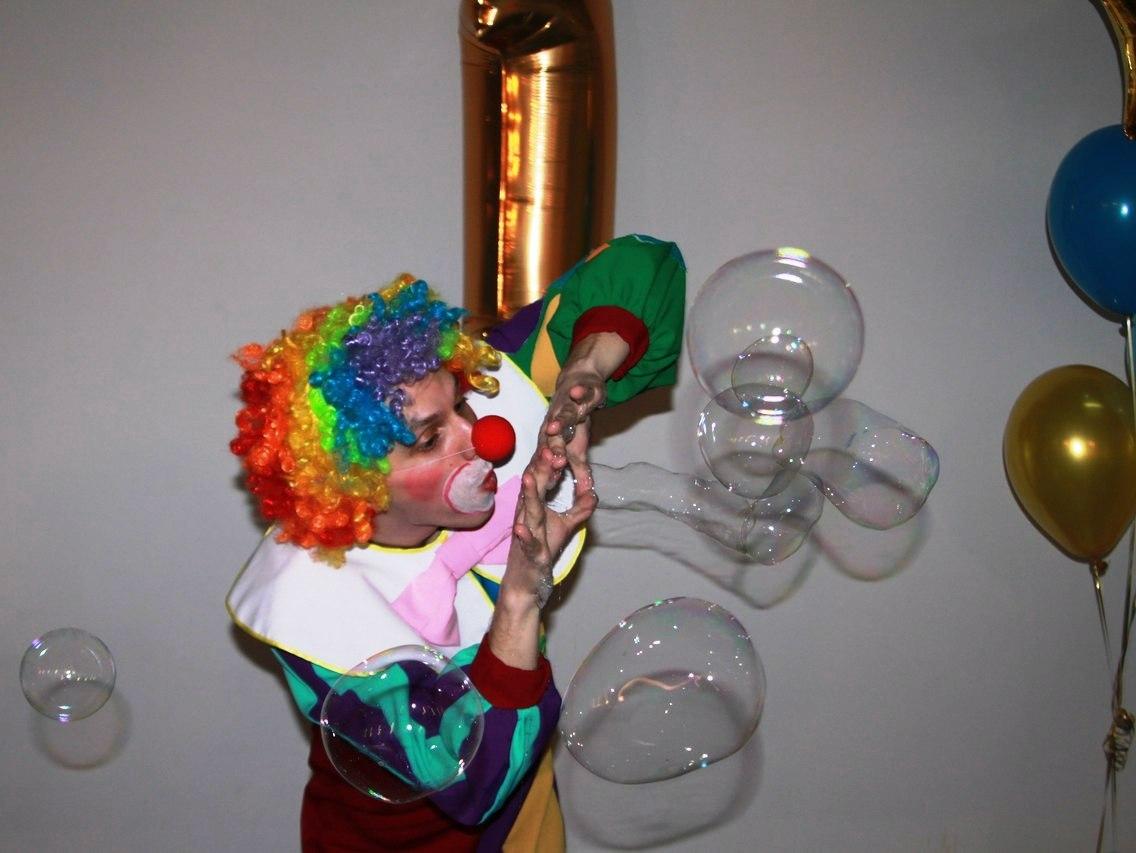 Шоу мыльных пузырей-13